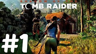 Shadow of The Tomb Raider - Gameplay Walkthrough Part 1 - Paititi Demo (1080p HD)