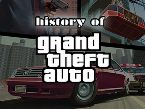 History of - Grand Theft Auto (1997-2013) | blablue123 Music Videos
