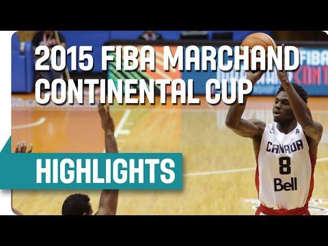 Canada v Dominican Republic - Highlights - 2015 FIBA Marchand Continental Cup