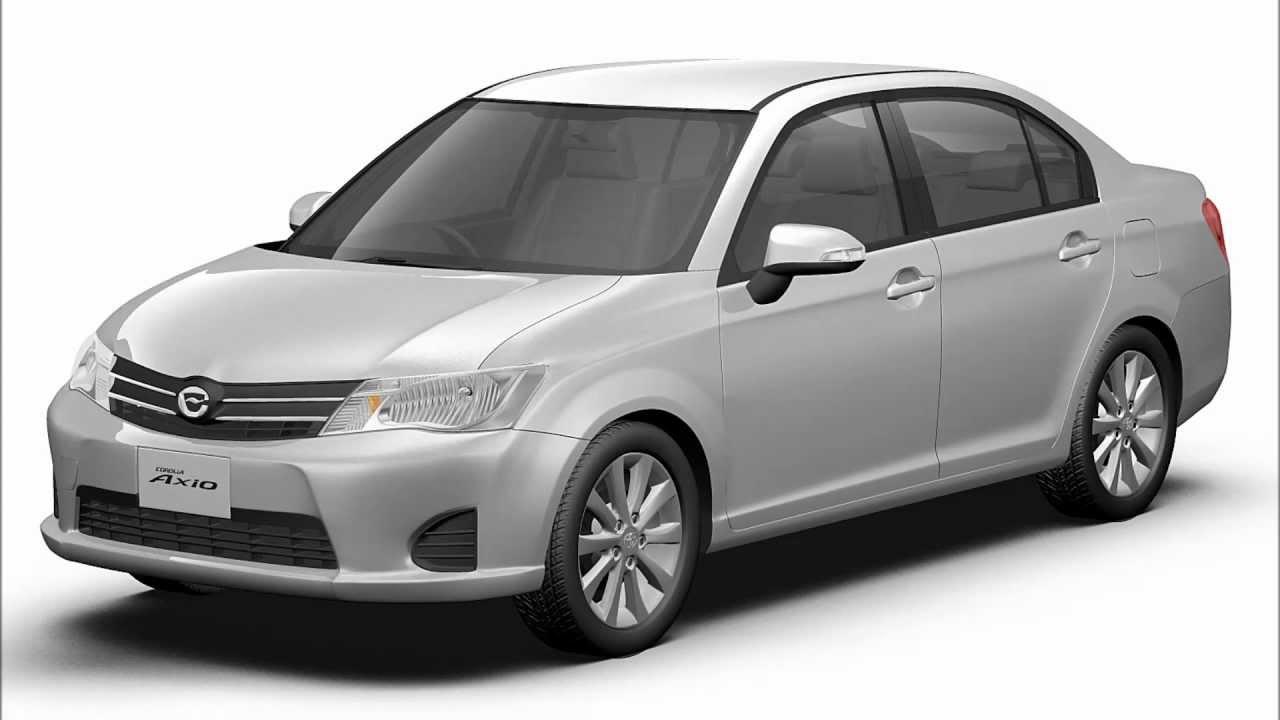 Toyota Corolla Axio 2013 Japan 3D Renderings YouTube