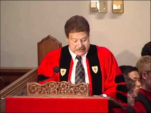 Baccalaureate Address: Dr. Ahmed Zewail