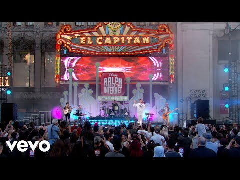 "Zero (Live From Jimmy Kimmel Live!/2018/From The Original Motion Picture ""Ralph Breaks ..."