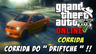GTA 5 Online - Corrida Racing Competition: Galera insana fazendo um DRIFTCHÊ