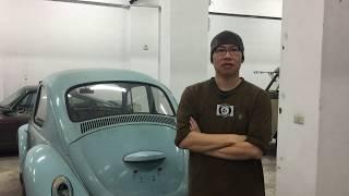 Vintage Speed VW 1972 Standard Beetle Tour