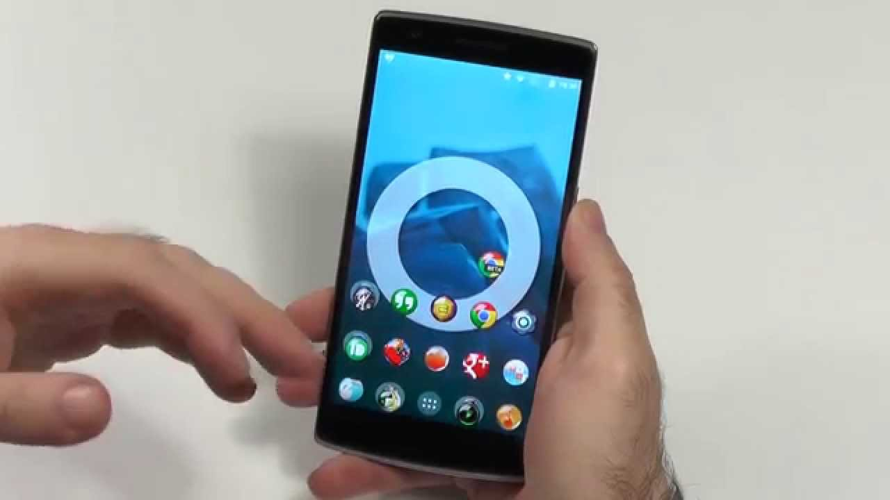 OnePlus One - Android Lollipop CM12 - First Look