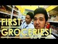 First Groceries - Vlog #35 December 6, 2013 - Keith Varias