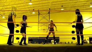 """CCW"" TNA Daffney vs Leva vs Amy Love"