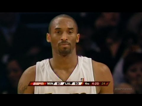 Kobe Bryant Full Highlights vs Timberwolves 2007.03.18 - 50 Pts, 2nd Straight 50+ Point Game