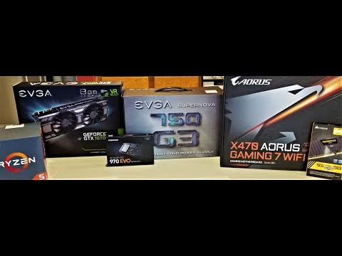AMD Ryzen 5 2600X Computer Build - LIVE