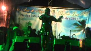 Margarita lugue en Vivo Evento Nayon Quito sonido Super Megatron Mix