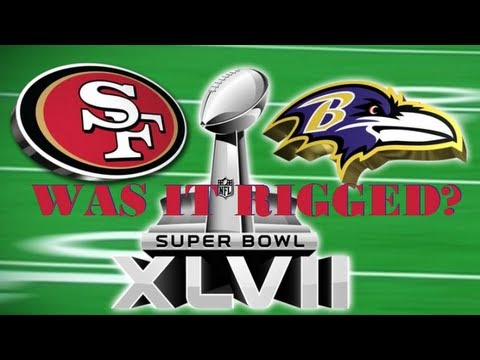 Super Bowl 47 Rigged: Bad Calls by Refs! (Review)
