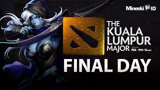 [DOTA 2] EG vs VP: The Kuala Lumpur Major - FINAL DAY With Mongstar & Justincase