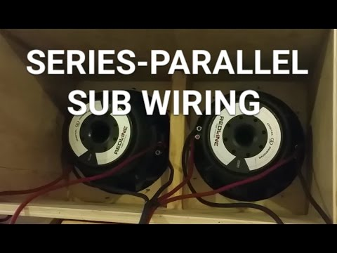 HOW TO wire subs ... Dual Coil Series Parallel Wiring Combinations