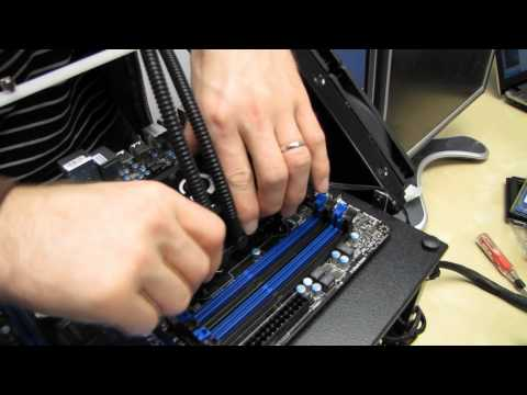 LGA2011 Intel Core i7 CPU Installation Guide H100 Water Cooler Linus Tech Tips