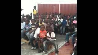 Children In Haiti At Tabarre