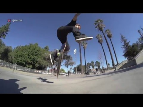 X Games Trick Tips -- Neen Williams backside heelflip