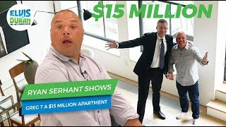 Ryan Serhant Leaves Greg T Alone in a $15 Million NYC Apartment | Elvis Duran Exclusive