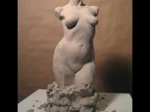 SCULPTING THE FEMALE TORSO by PETER RUBINO