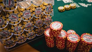WSOP Closer Final Day CHIP LEADER $565,000 to 1st!