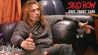 Skid Row's Dave 'The Snake' Sabo: Interview - RAMzine
