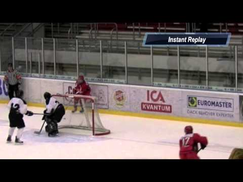 Amazing hockey goal by 17 year old