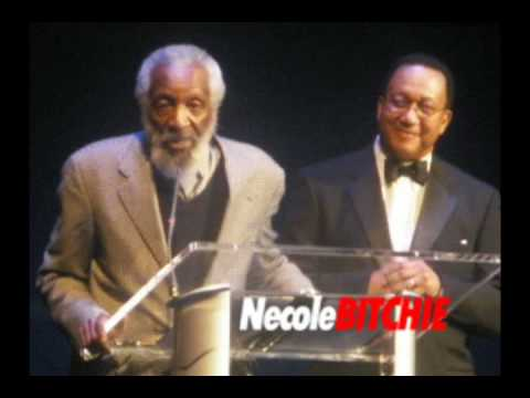 Dick Gregory at the Hip Hop Inauguration Ball