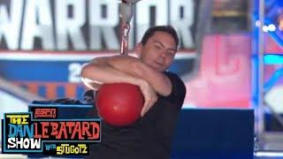 Dan Le Batard Show crew attempts American Ninja Warrior course   ESPN