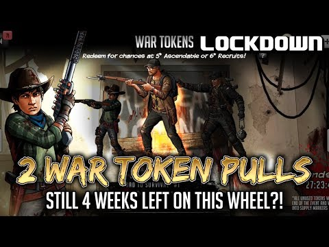 TWD RTS: 2 War Token Pulls - The Walking Dead: Road to Survival