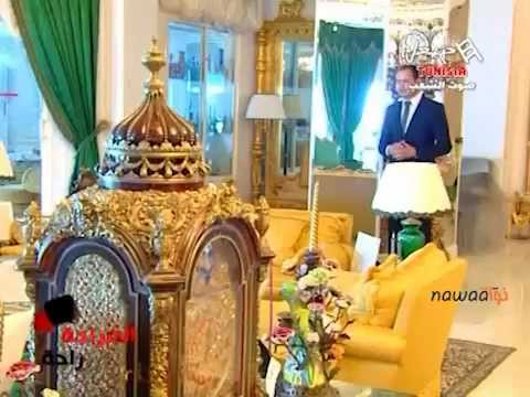 Tunisie : Le Palais de Sidi Dhrif du président déchu Ben Ali (Reportage Hannibal TV)