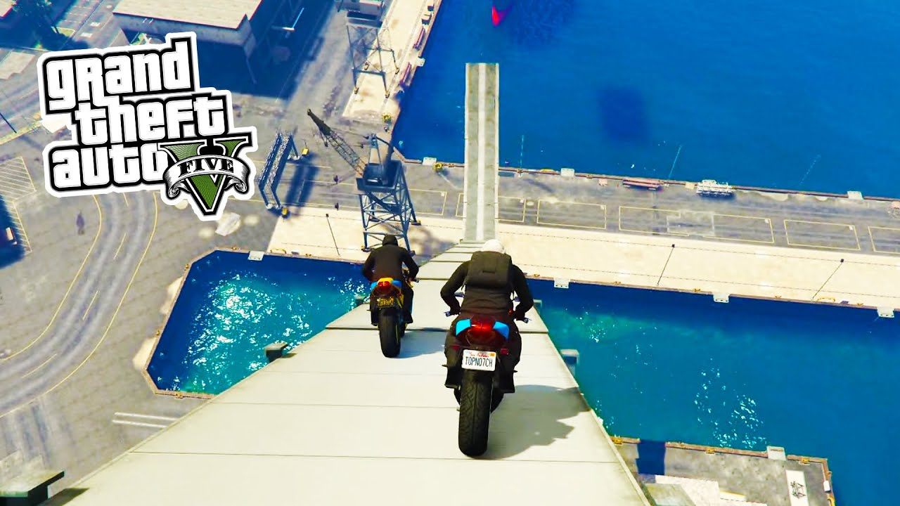 Bike Tricks Gta 5 GTA Online BIKE STUNTS