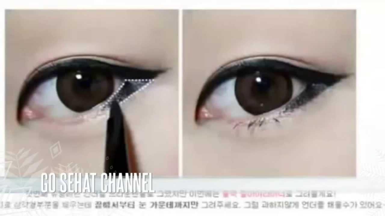 Cara Makeup Mata Sipit Ala