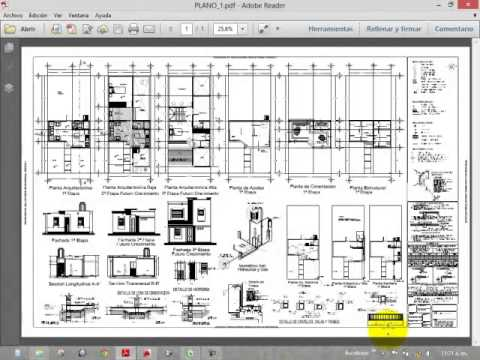 Planta arquitectónica (Parte 1)