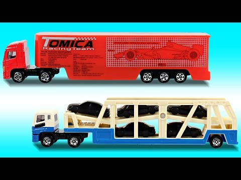 Learn Trailer Transport Trucks For Kids | Toys For Kids | Toys Unboxing | Kids TV