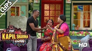 'DJ' Bravo getting Lessons on Bollywood - The Kapil Sharma Show - Episode 10 - 22nd May 2016