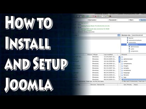 Joomla Tutorial: How To Install Joomla