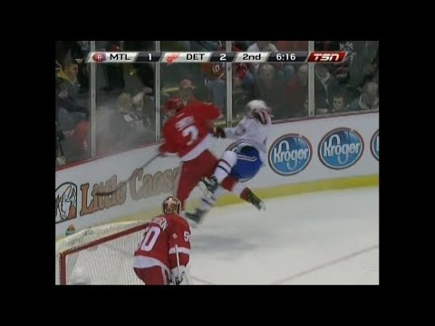 Habs @ Wings 1/24/14 (Game Highlights - TSN)