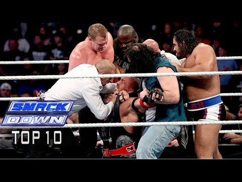 Top 10 Wwe Smackdown Moments - November 21, 2014 video