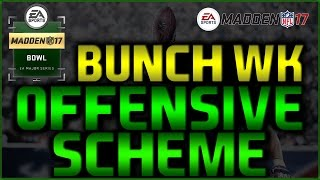 Madden 17: Gun Bunch Wk Full Scheme! Chiefs Offensive Guide! Salary Cap Ranked Offense! #MaddenBowl