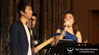 Donnie Chan & Tricia Zhou performs 你的倒影 Ni De Dao Ying with The Summertimes Hotshots