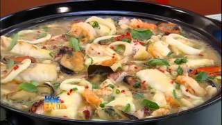 Aprenda a fazer uma feijoada branca com frutos do mar #Receitas