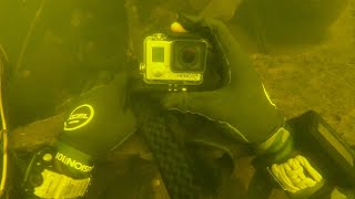 Found Lost GoPro Underwater at the Bottom of the River! (Returned to Owner)