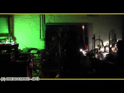 WEBCAM HIFI (fr) ft el fata - run into di sound 7  on the dub again #6 @ black buddah 9-03-2013
