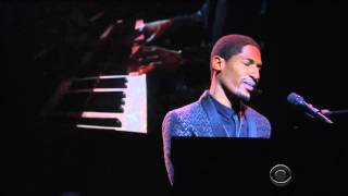 Jon Batiste Performing Blackbird 09 Feb 2016