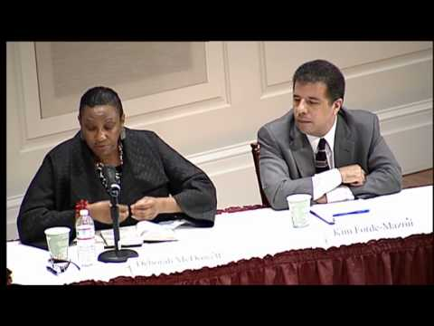 Race Relations in America: Post Ferguson Reflections - A Panel Discussion