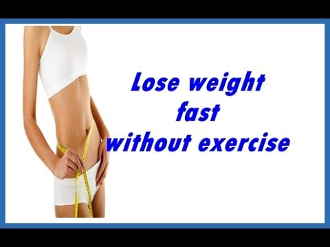 Natural Ways To Lose Belly Fat Without Exercise