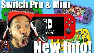 Nintendo Switch Pro & Mini New Info