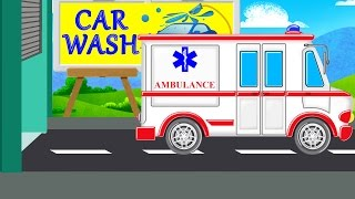 Ambulance  Car Wash Videos  Videos For Children
