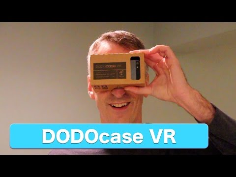 DODOcase VR, Virtual Reality Cardboard Toolkit (Google Cardboard) Review