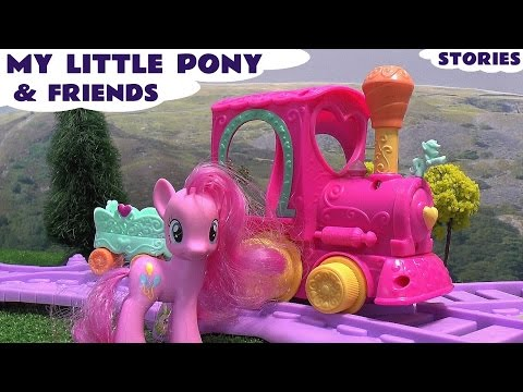 My Little Pony Mlp Play Doh Peppa Pig Frozen Princess Surprise Egg Thomas And Friends Hello Kitty video