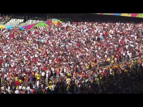 England Costa Rica Fans 24.06.2014